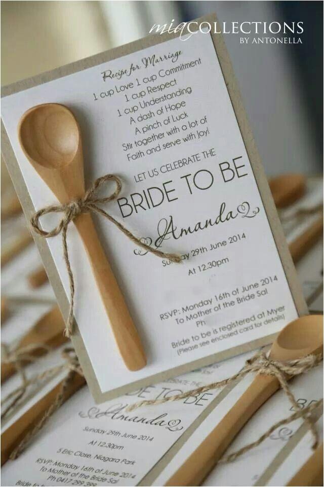 kitchen tea bridal shower invitations