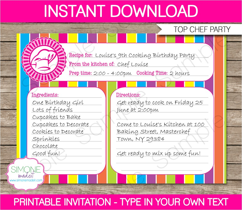 Kitchen Party Invitation Cards Samples Kitchen Party Invitation Card Samples Various Invitation