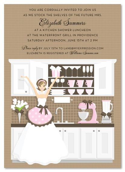 kitchen bridal shower theme