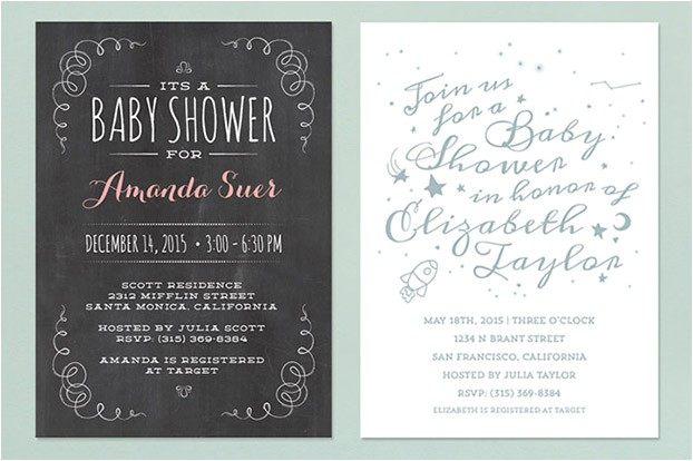 exciting baby shower only for la s for thank you cards