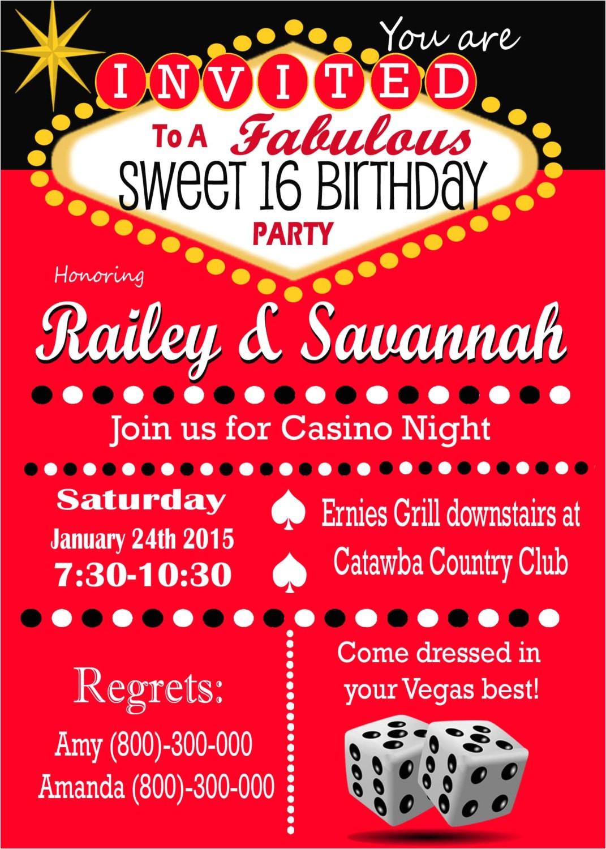 theme party las vegas sweet 16