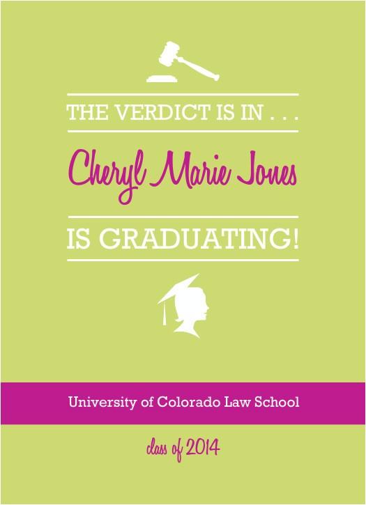 law school graduation invitations template