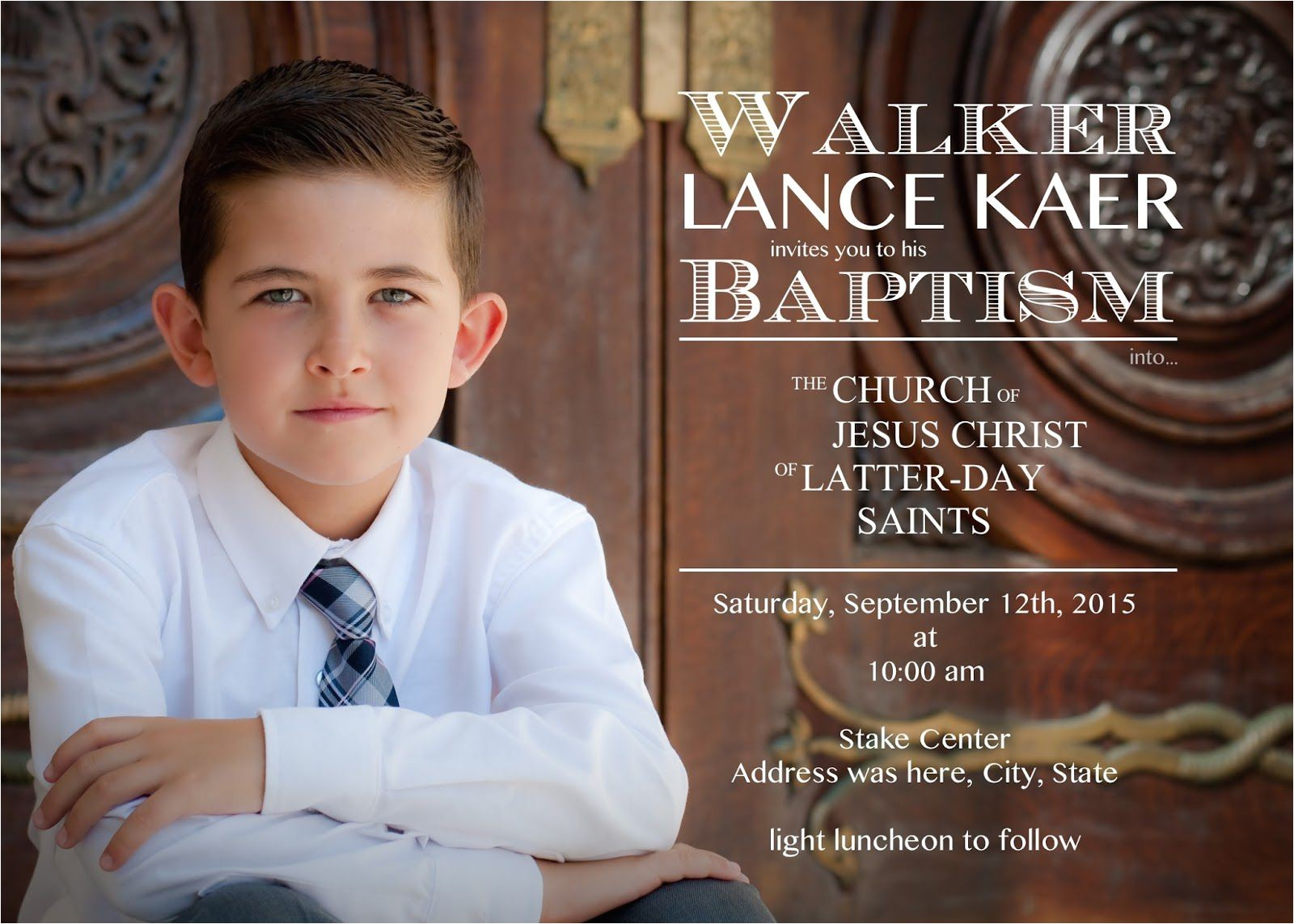 order lds baptism invitations