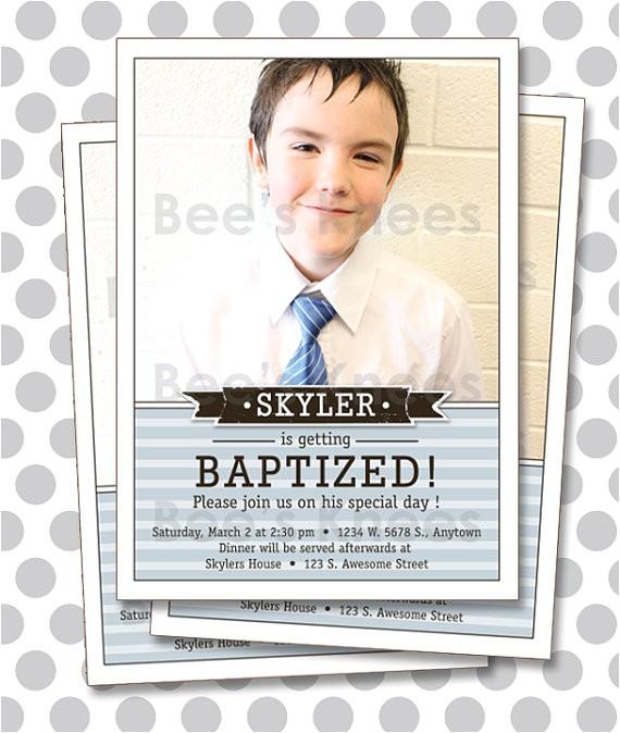 lds baptism invitation boy invite