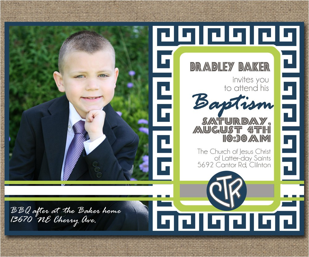 printable baptism invitation with photo