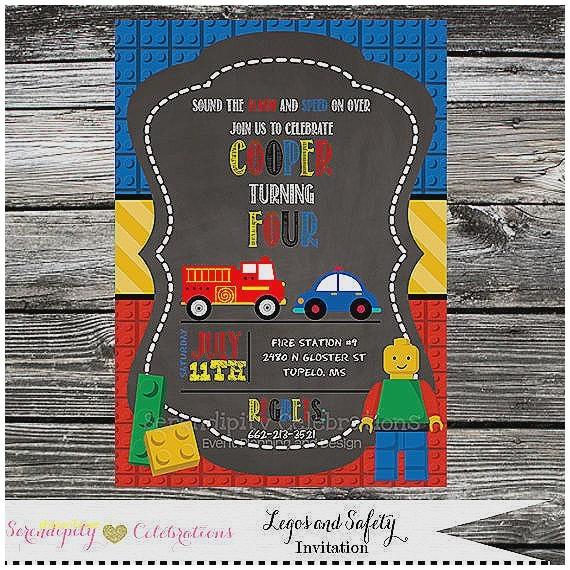 lego baby shower invitations