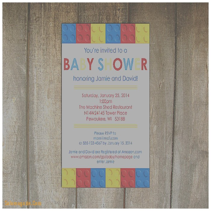 baby shower invitation fresh lego baby shower invitations l
