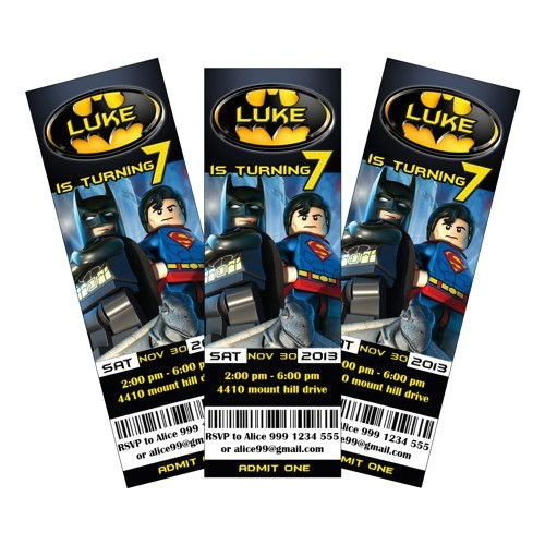 Lego Batman Party Invitations Free Printable Lego Batman Party Invitations Printable