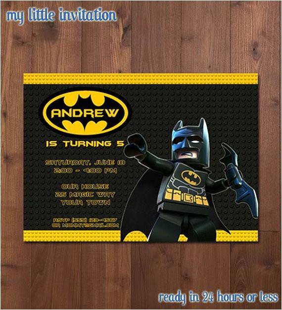 lego batman superhero birthday party