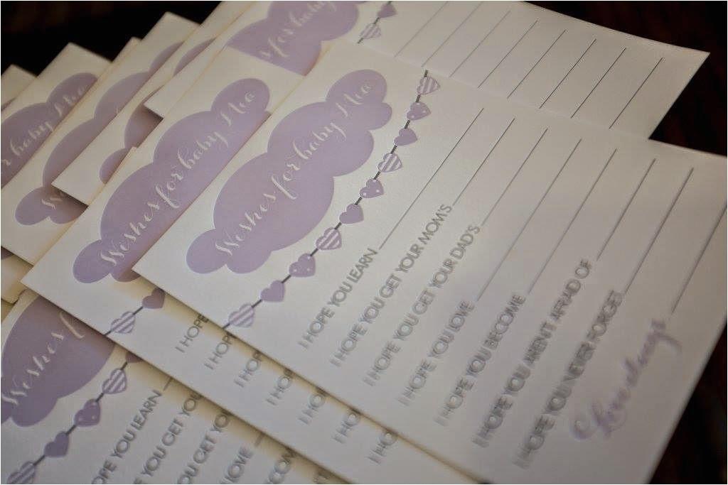 letterpress baby shower invitations baby mia