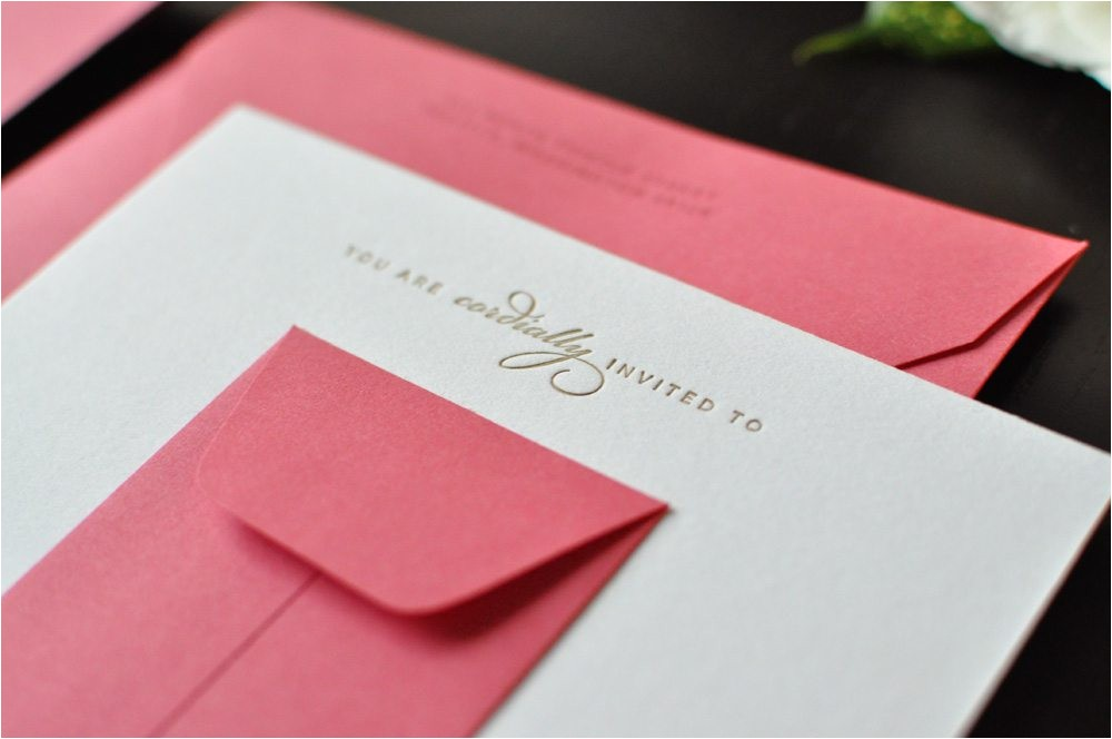 pretty pink bridal shower invitations