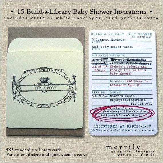library baby showers