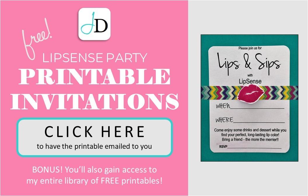 diy invitation tutorial free printable