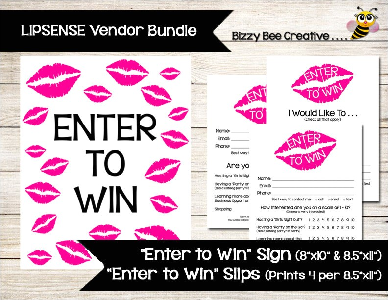 lipsense younique enter to win poster