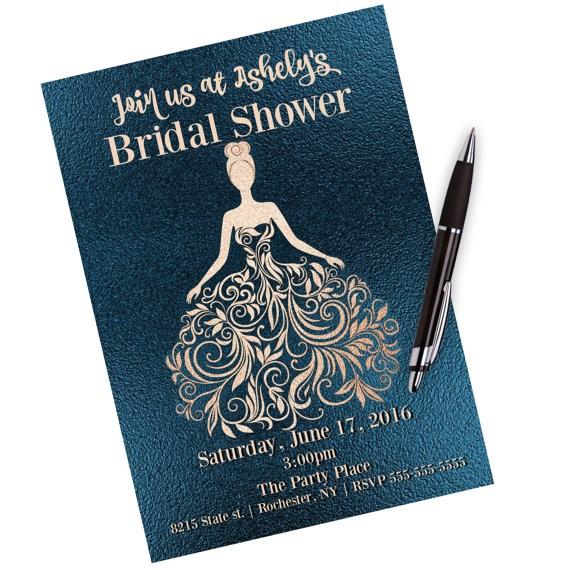 bridal shower little black dress bridal