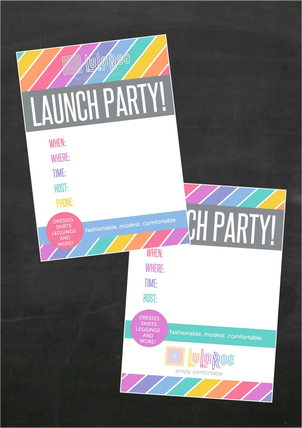 Lularoe Launch Party Invite Lularoe Launch Party Invitation Jpg Blank Files by
