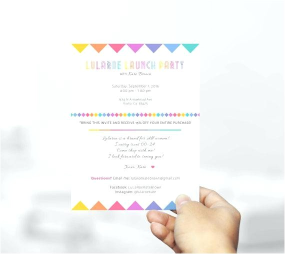 invitation wording launch party