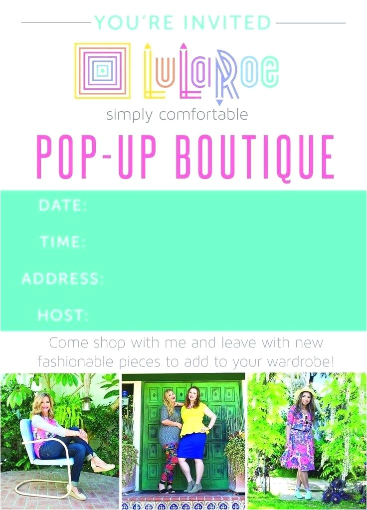 lularoe party invite pop up party invitation lularoe party invite wording