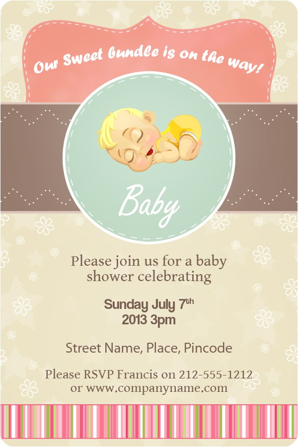 magnet invitations baby shower