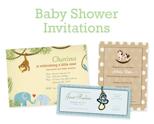 Magnet Baby Shower Invitations Personalized Baby Shower Invitations by Crinklednose