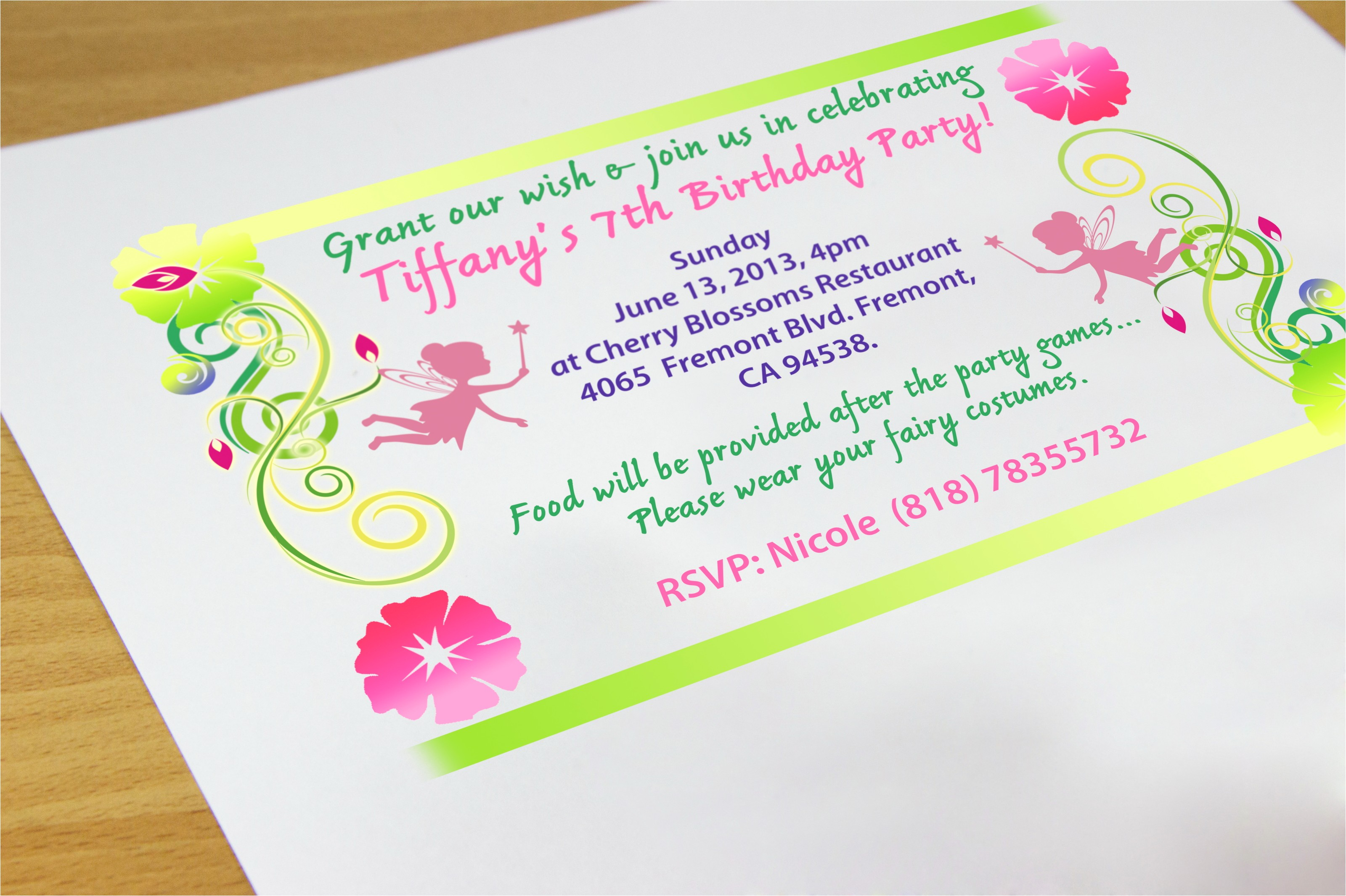 how to make party invitations