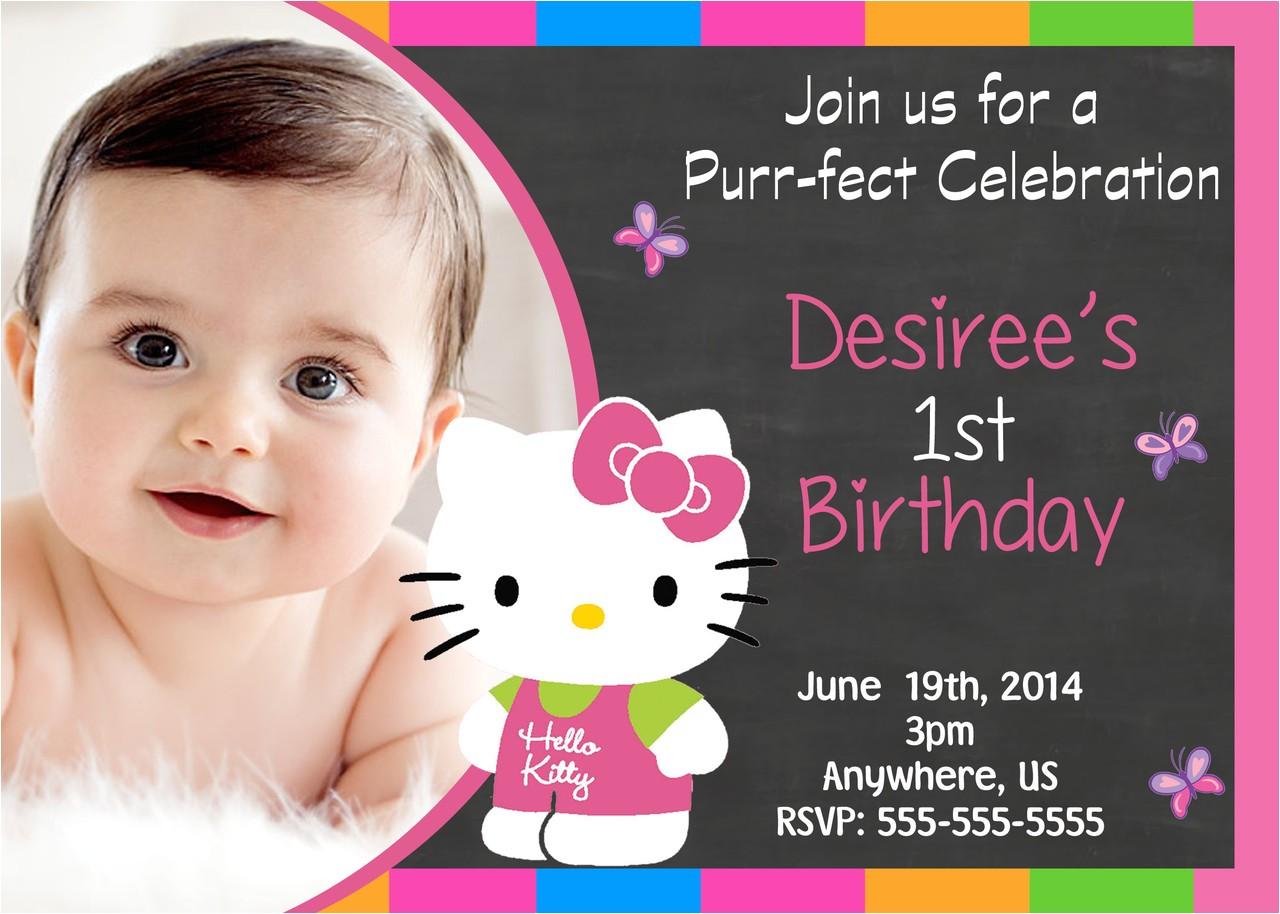 hello kitty birthday invitations at walmart