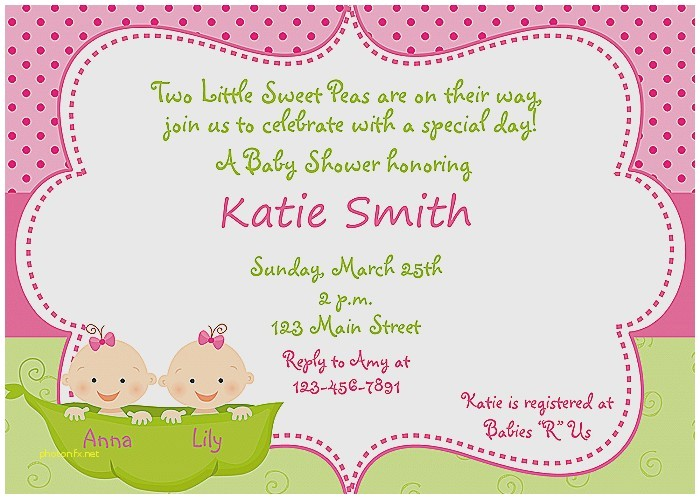 make my own baby shower invitations free