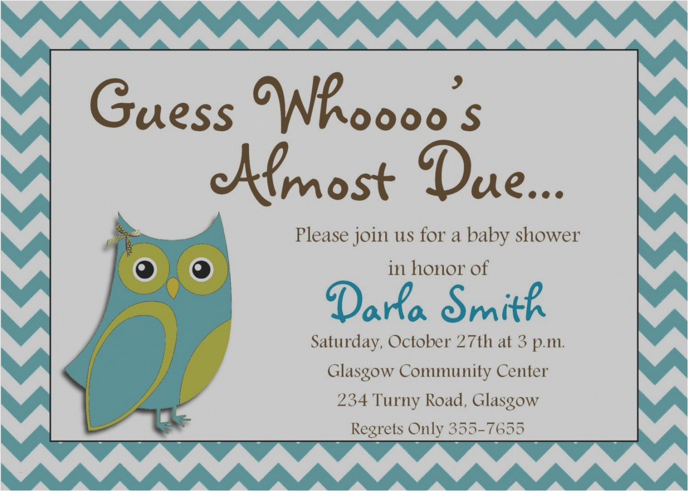 create my own baby shower invitations