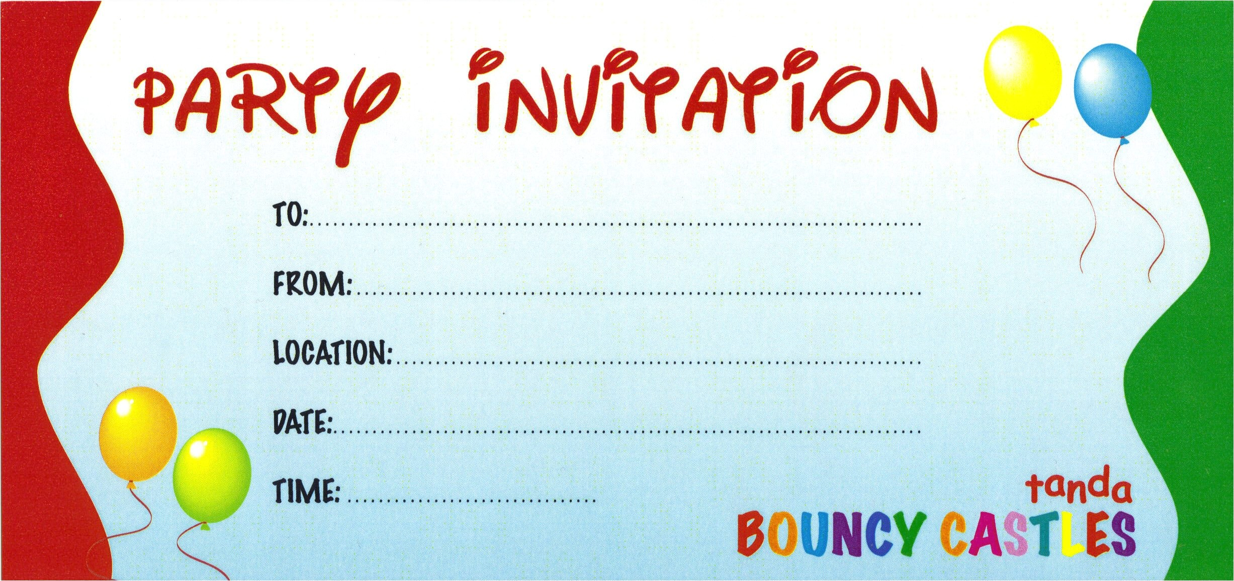 create your own birthday invitations free
