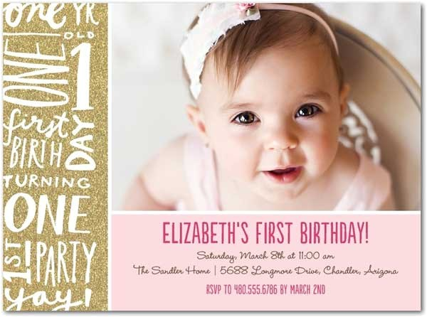 best collection of first birthday party invitations for your inspiration