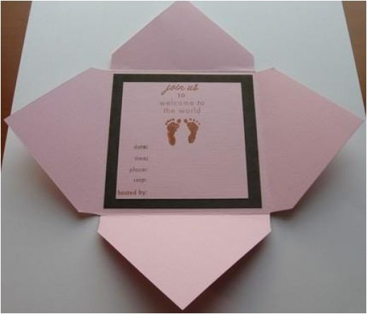 How To Make Your Own Baby Shower Invitations