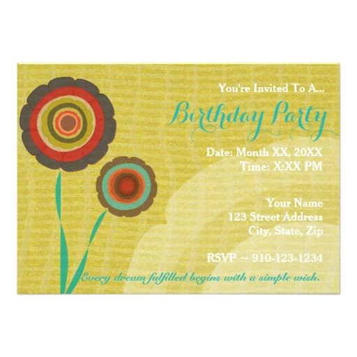 create your own birthday party invitation 256329872971729440