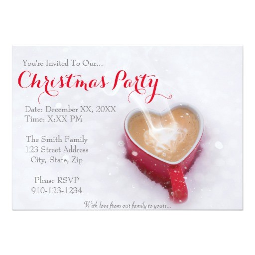 create your own christmas party invitation 256289095591606616