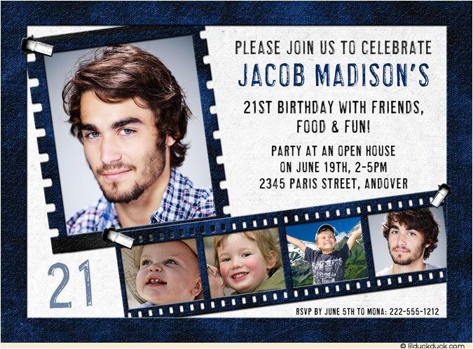 21st birthday invitations ideas