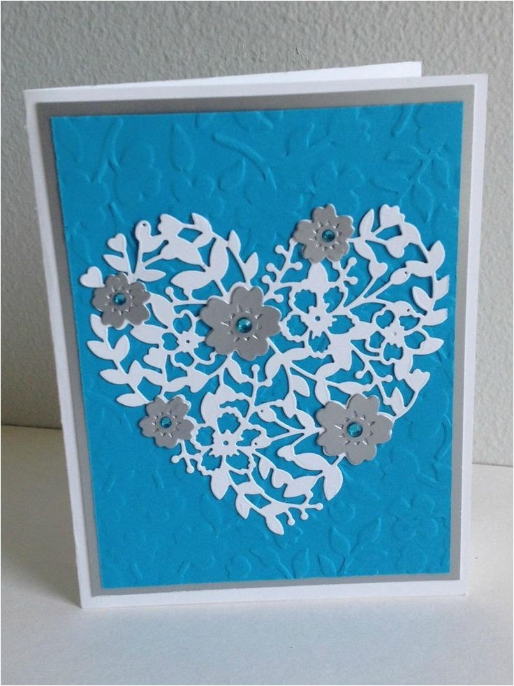 stampin up wedding cards