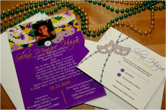 quinceanera invitations in spanish