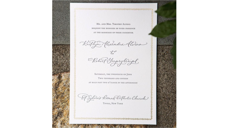 common wedding invitation wording