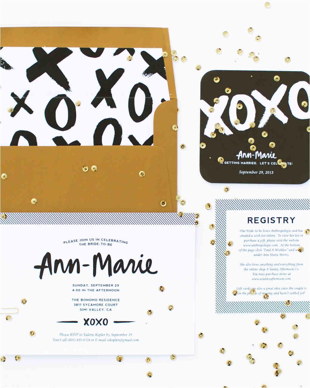 bridal shower invitations we love