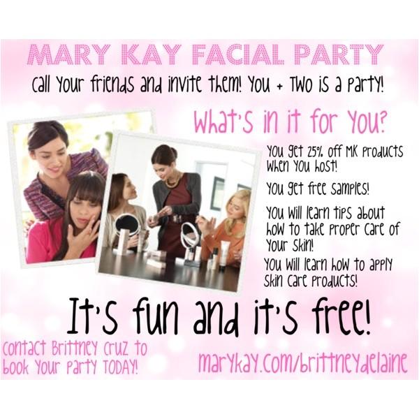 mary kay facial party invitations shtml