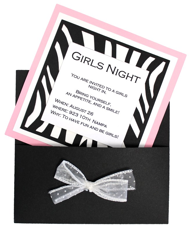 seven days of parties with the new party cutting file cd day three girls night