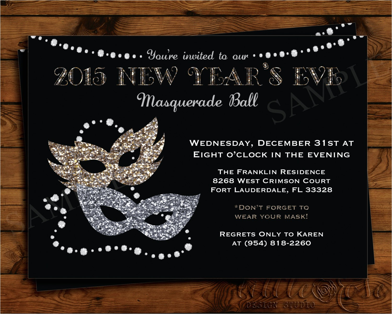 masquerade party invitation wording