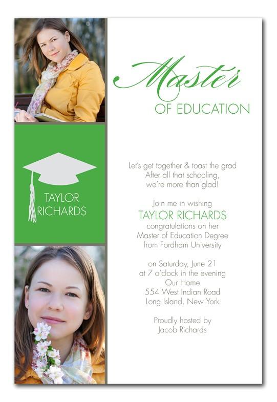 Masters Grad
