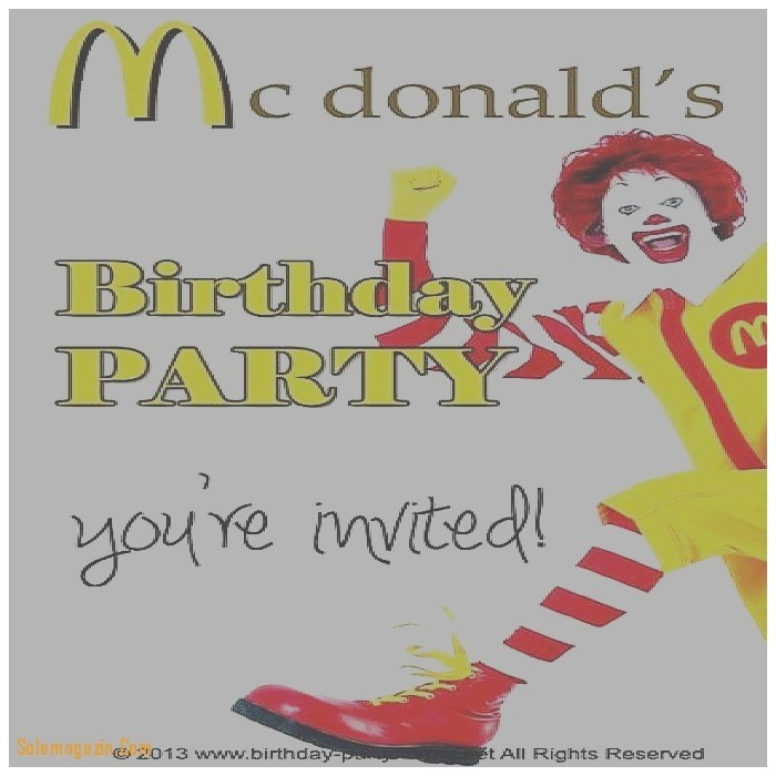 mcdonalds birthday card beautiful mcdonalds ad