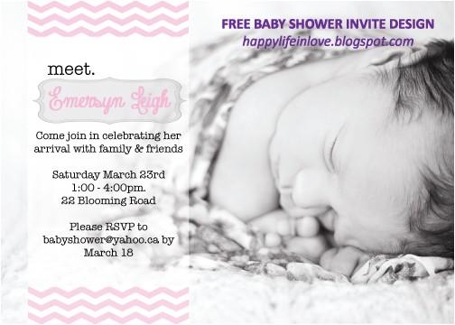 freebie meet babybaby shower invite