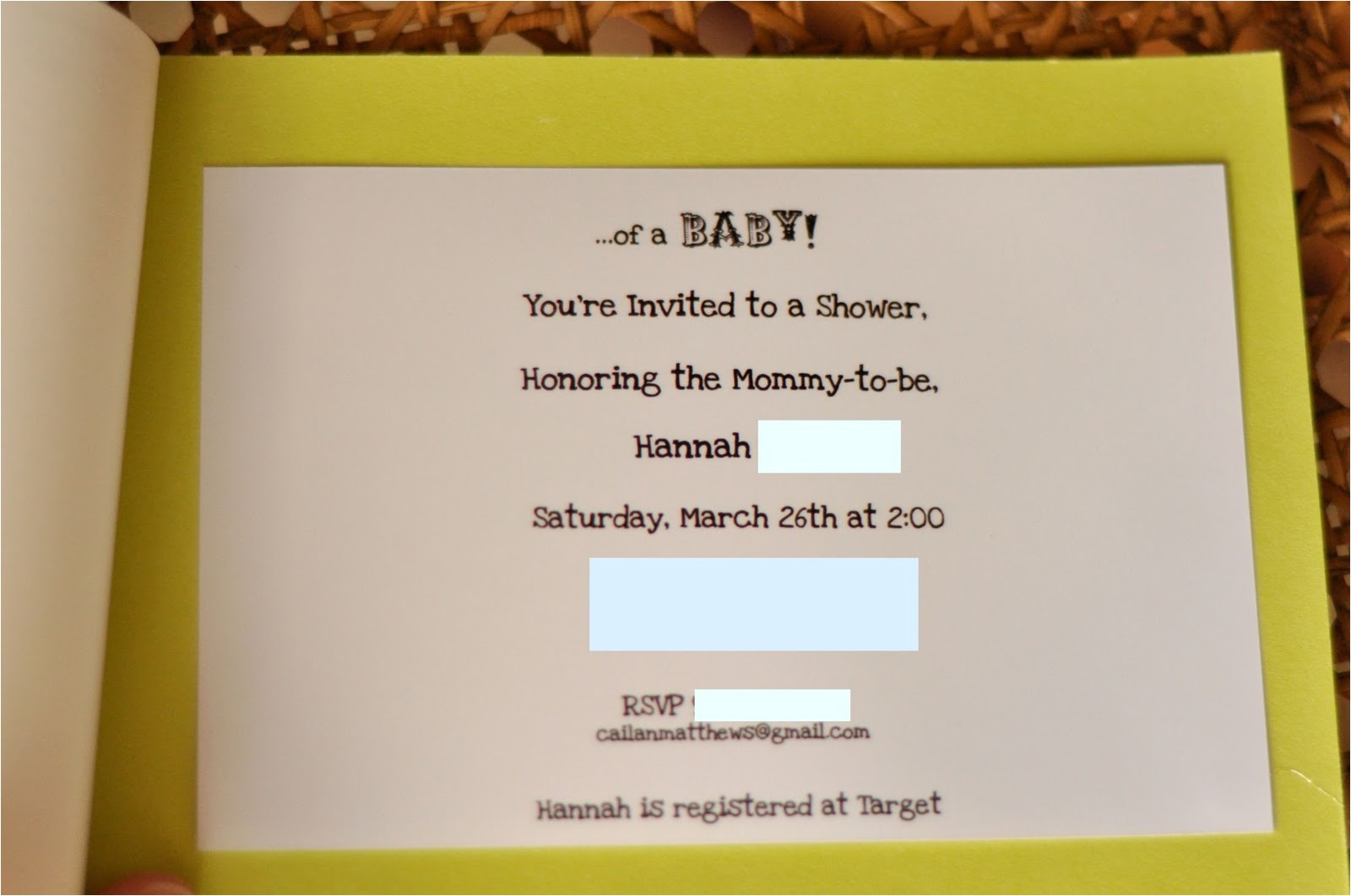 bridal shower invitations meijer