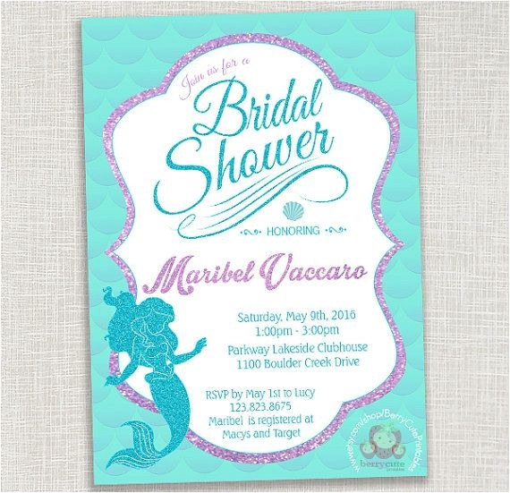 mermaid bridal showers