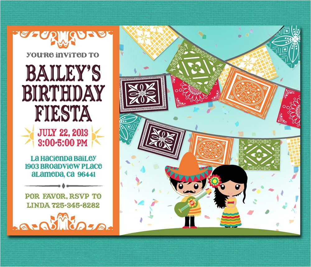print yourself kids mexican fiesta