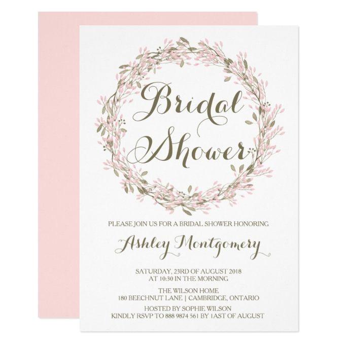 bridal shower invitations at michaels