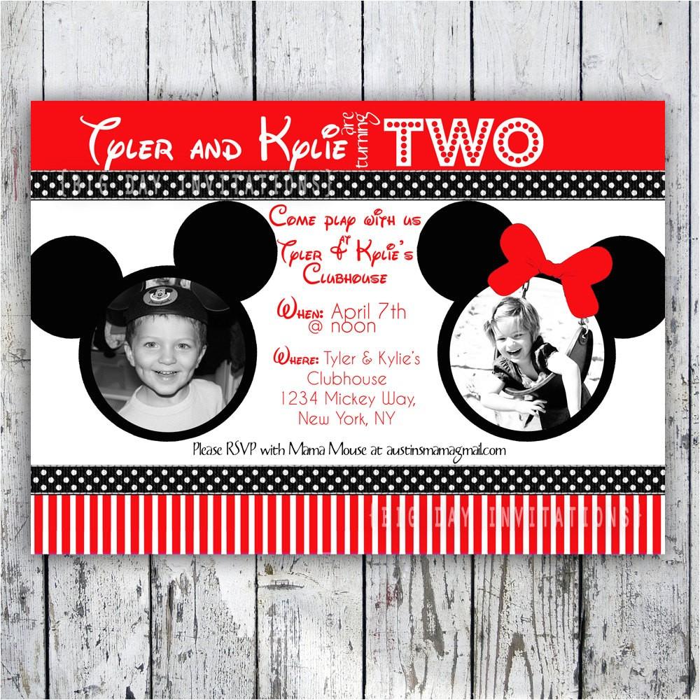 minnie mouse printable birthday invitations