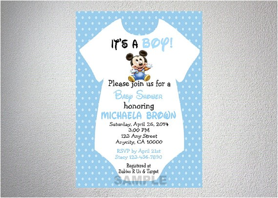 baby mickey mouse onesie boy baby shower